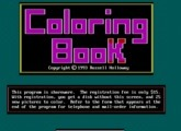 Educational: Coloring Book - DOS